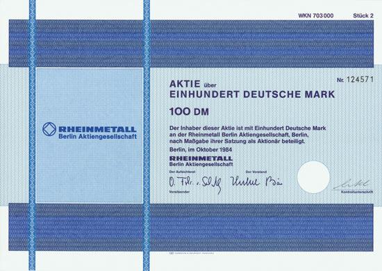 Rheinmetall Berlin AG