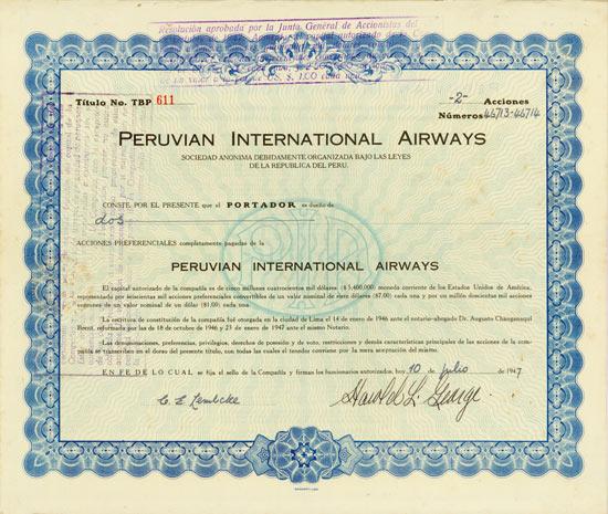 Peruvian International Airways