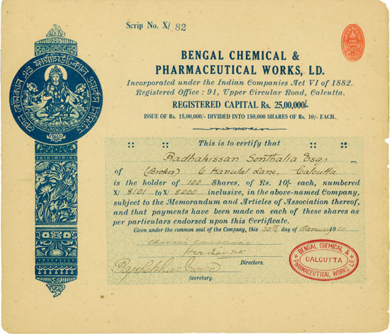 Bengal Chemical & Pharmaceutical Works, Ltd.