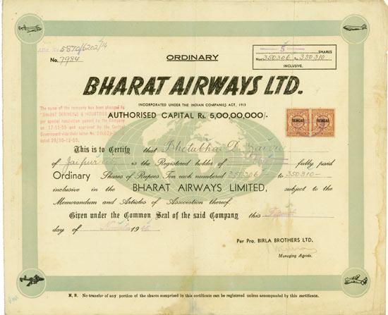 Bharat Airways Ltd.