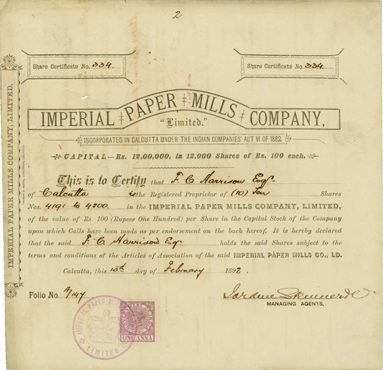 Imperial Paper Mills Company