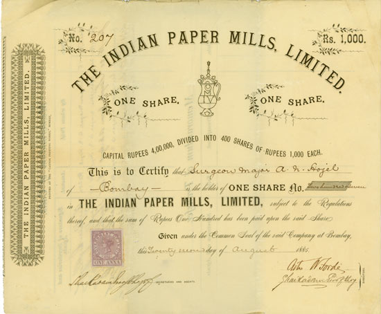 Indian Paper Mills, Limited