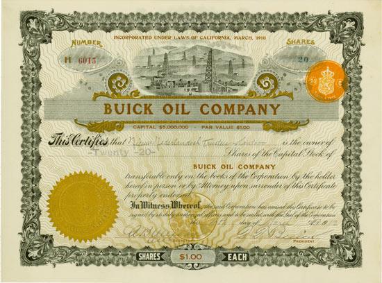 Buick Oil Company