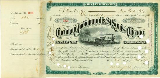 Cincinnati, Indianapolis, St. Louis & Chicago Railway Company