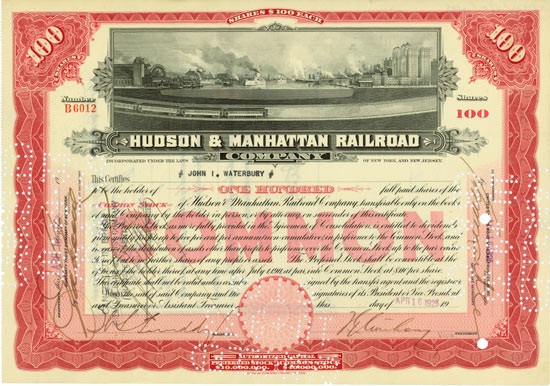 Hudson & Manhattan Railroad