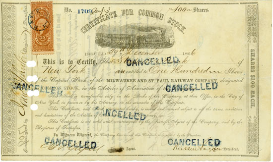 Milwaukee & St. Paul Railway Company