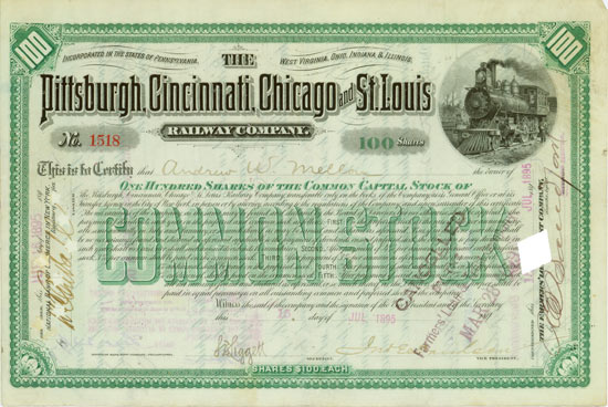 Pittsburg, Cincinnati, Chicago and St. Louis Railway Company