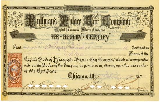 Pullman's Palace Car Company
