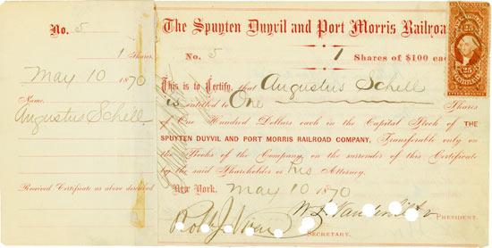 Spuyten Duyvil and Port Morris Railroad Company