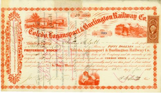 Toledo, Logansport & Burlington Railroad