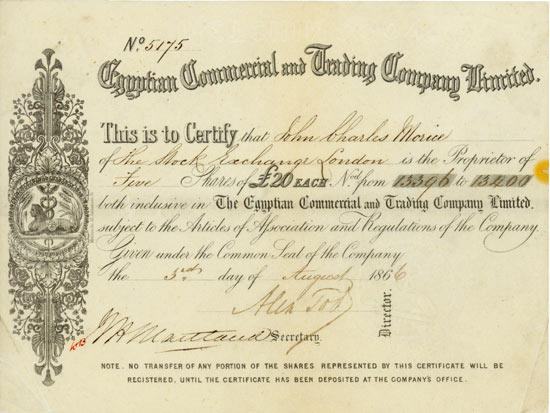 Egyptian Commercial and Trading Company Limited
