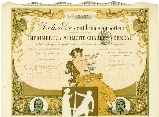 Imprimerie et Publicité Charles Verneau