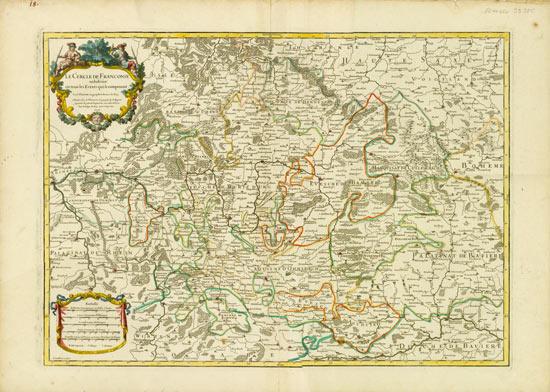 Franken - Karte