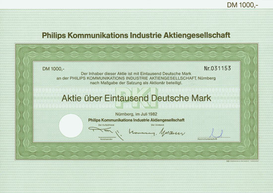 Philips Kommunikations Industrie AG