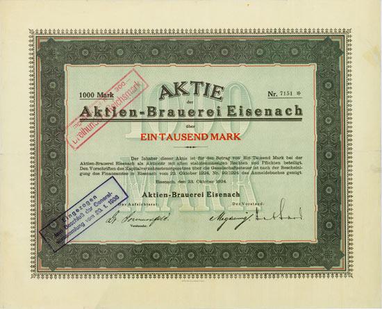 Actien-Brauerei Eisenach