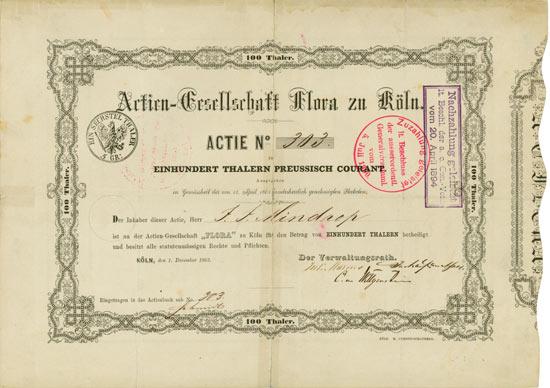 Actien-Gesellschaft Flora zu Köln