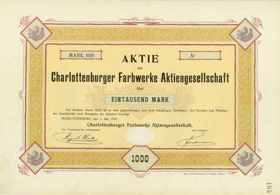 Charlottenburger Farbwerke AG