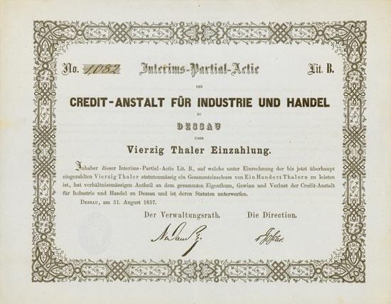 Credit-Anstalt für Industrie und Handel