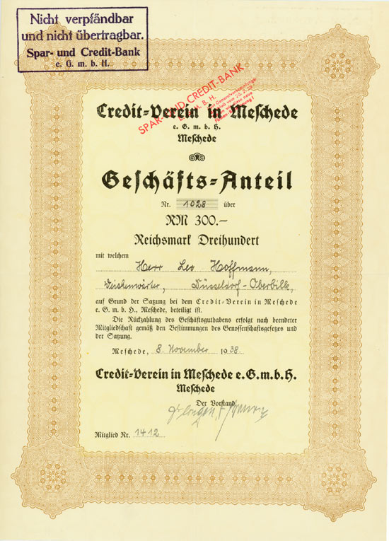 Credit-Verein in Meschede eGmbH