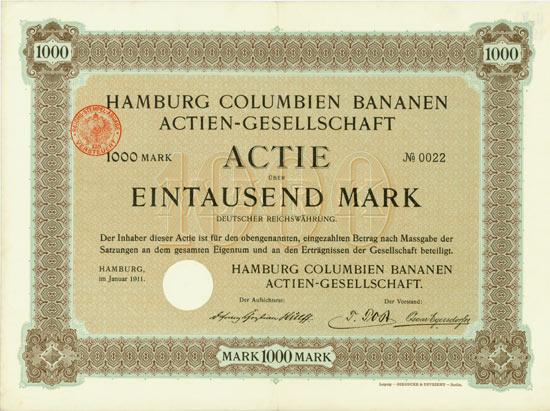 Hamburg Columbien Bananen AG
