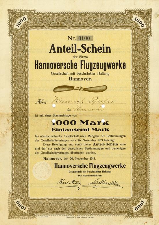 Hannoversche Flugzeugwerke GmbH