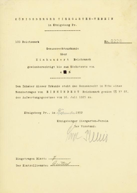 Königsberger Tiergarten-Verein