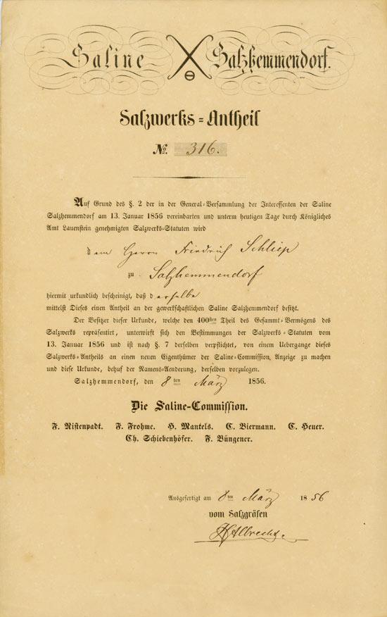 Saline Salzhemmendorf