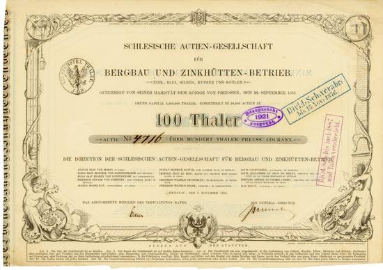 Schlesische Actien-Gesellschaft für Bergbau und Zinkhütten-Betrieb