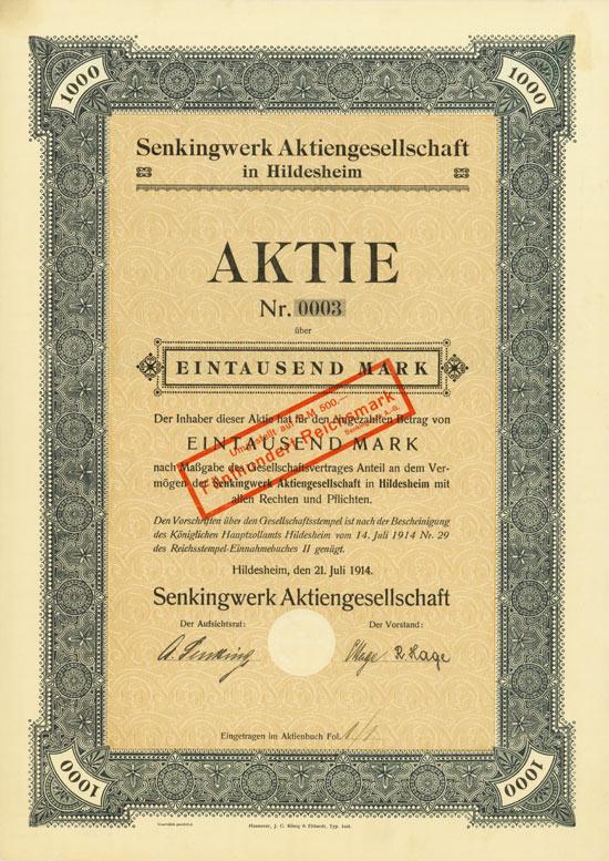 Senkingwerk AG