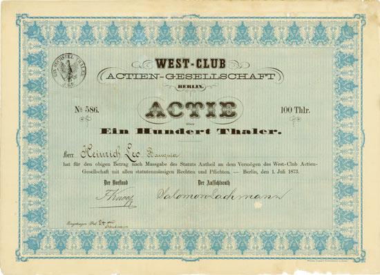 West-Club AG