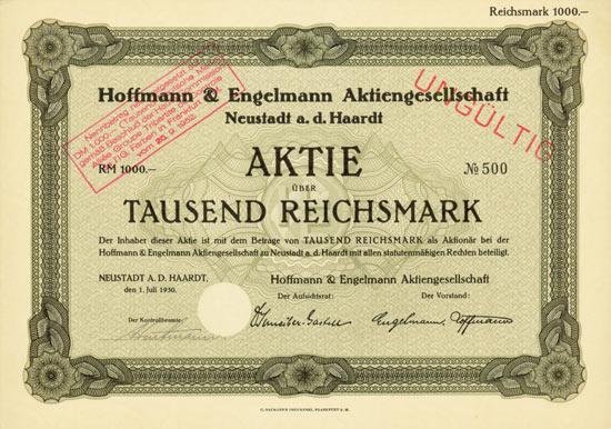 Hoffmann & Engelmann AG