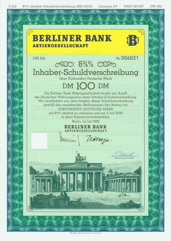 Berliner Bank AG [Multiauktion 2]