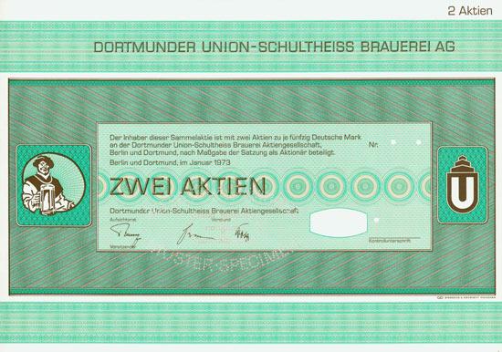 Dortmunder Union-Schultheiss Brauerei AG