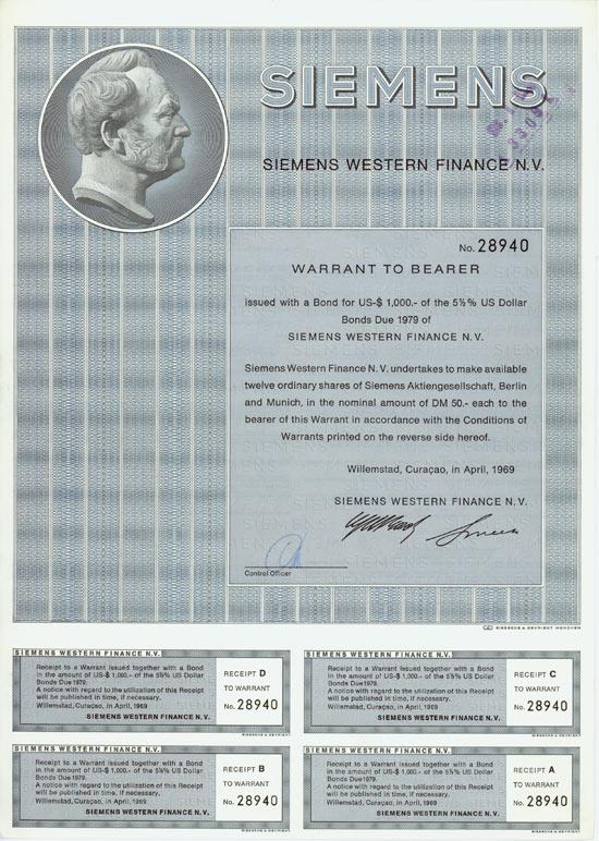 Siemens Western Finance N.V.