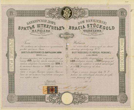 Dom Bankierski Bracia Stückgold