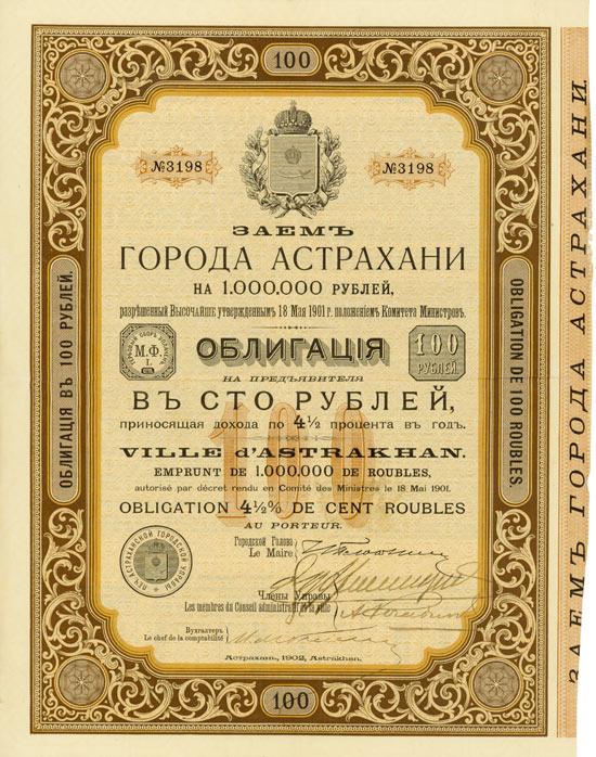 Ville d'Astrakhan