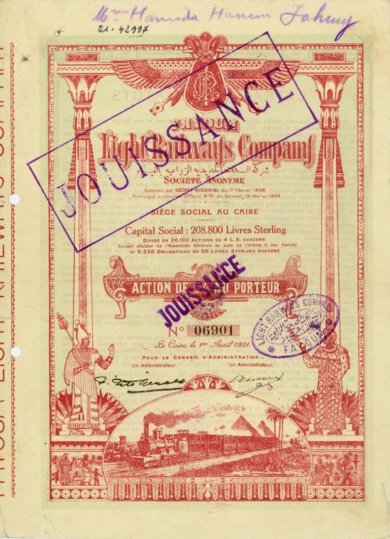Fayoum Light Railways Company