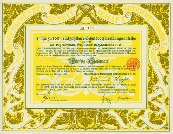 Bogenschützen-Gesellschaft Kötzschenbroda e.G.
