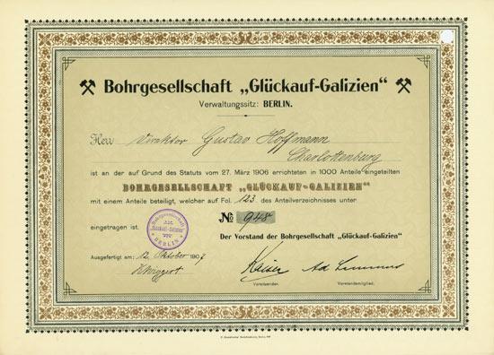 Bohrgesellschaft Glückauf-Galizien