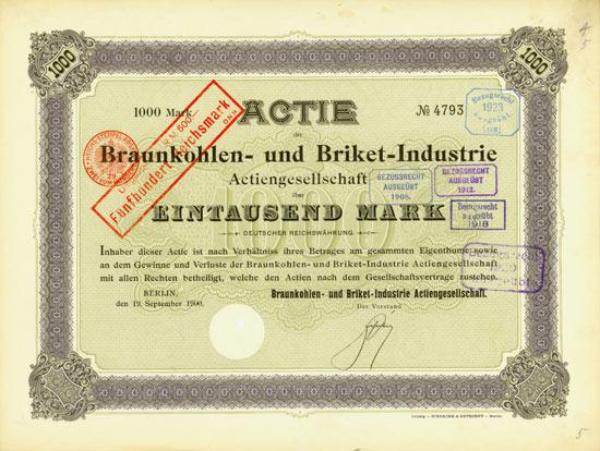 Braunkohlen- und Briket-Industrie AG