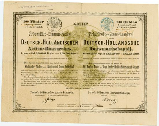 Deutsch-Holländischer Actien-Bauverein