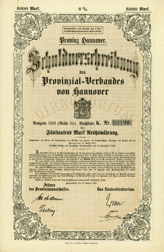Provinzial-Verband von Hannover