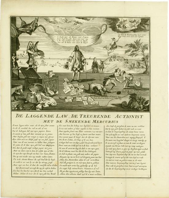 John Law: De Laggende Law, De Treurende Actionist met de Smekende Mercurius