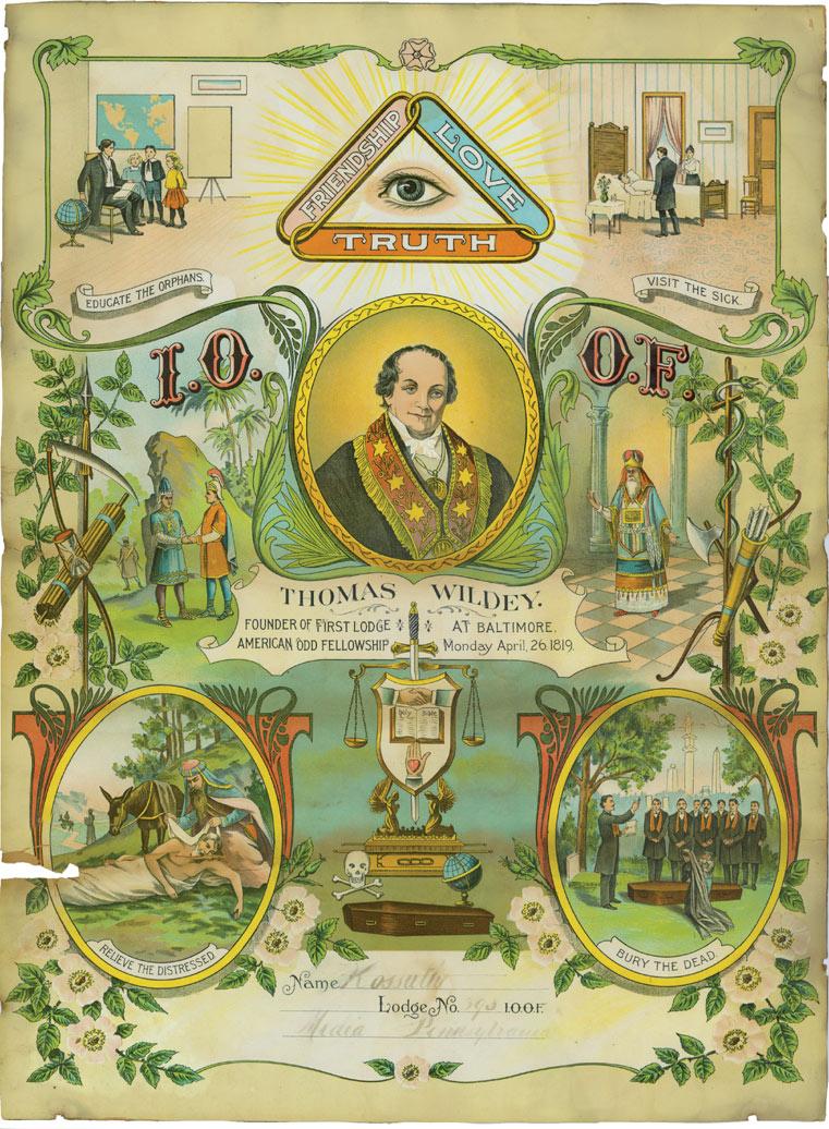 American Odd Fellowship - Kossuth Lodge No. 393