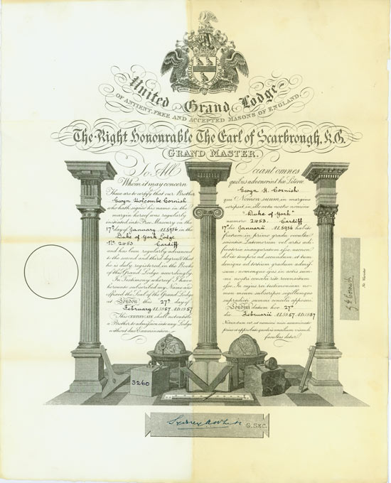 United Grand Lodge of Ancient, Free and Accepted Masons of England - Duke of York Lodge No. 2453