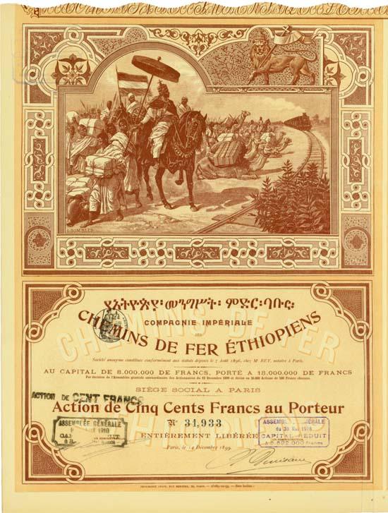 Compagnie Imperiale des Chemins de Fer Ethiopiens