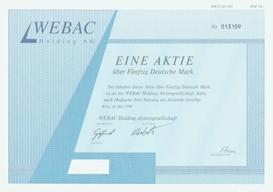 WEBAC Holding AG