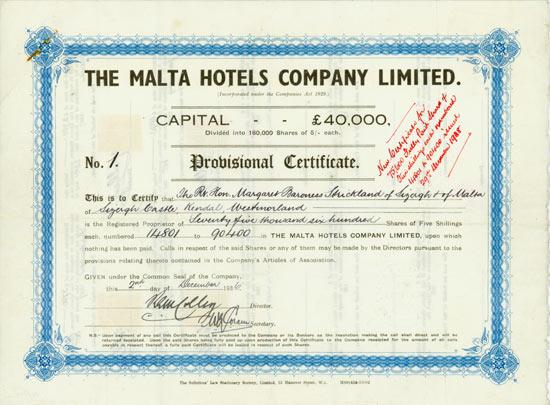 Malta Hotels Company Limited