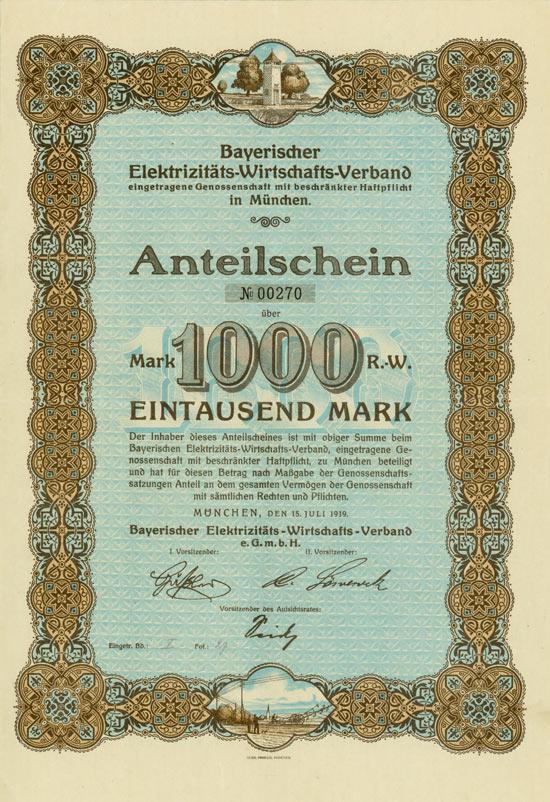 Bayerischer Elektrizitäts-Wirtschafts-Verband eGenossenschaft mbH