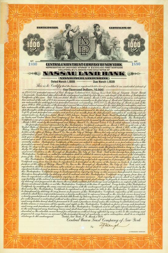 Nassau Land Bank (Nassauische Landesbank)